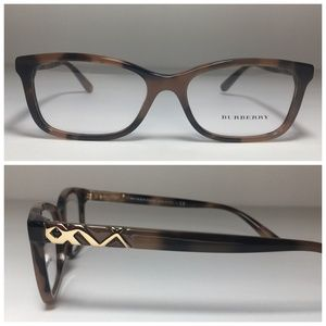 Burberry Havana Brown Eyeglasses Frames NWOT